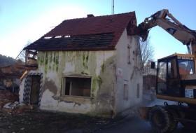 BV Abbruch Altes Wohnhaus in Pöbenhausen